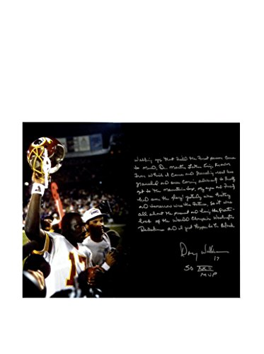 Steiner Sports Doug Williams Signed Super Bowl Story Photo, 16