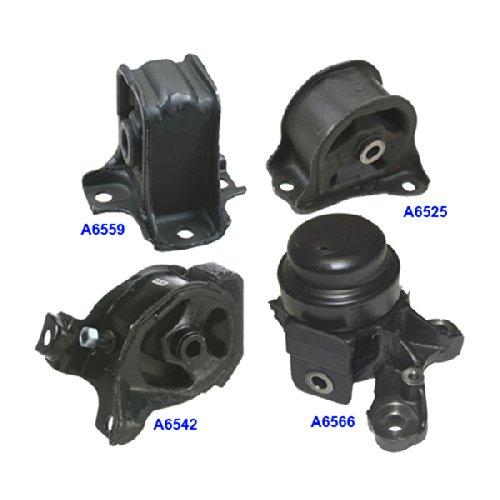 For 97 98 99 00 01 For Honda Prelude 2.2L Front /& Left Engine Motor Mount