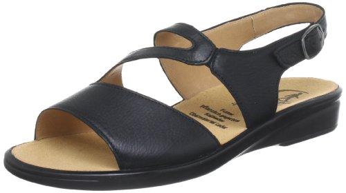 Ganter Sonnica, Weite E Sandals Womens Black Schwarz (schwarz 0100) Size: 6.5 (40 EU)