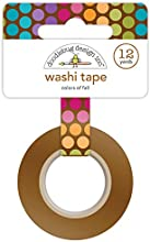 Friendly Forest Washi Tape 15Mmx12yd-Colors Of Fall