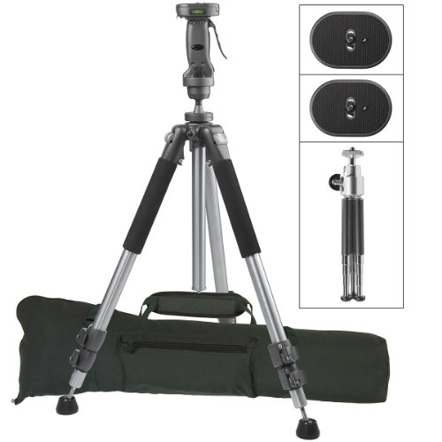 Ravelli APGL4 New Professional Tripod with Adjustable Pistol Grip Head and Heavy Duty Carry Bag