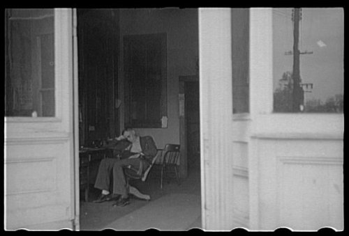 Photo Law office, Goldsboro, North Carolina 1938