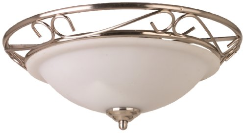 TP24 Cairo Flush Fitting in Satin Silver Finish