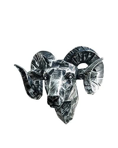 Interior Illusions Ram Head Wall Hanging