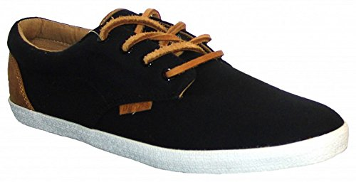 Djinns Nice Low-Pro Canvas Sneaker Black, Black, 4