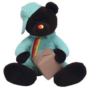 TY Beanie Baby - PACKER the Bear (UK Exclusive) - 1