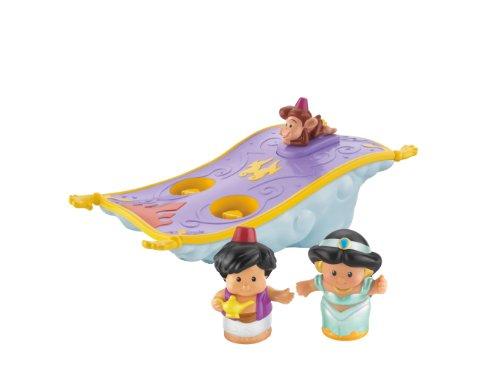 Fisher-Price Little People Disney Aladdin's Magic Carpet - 1