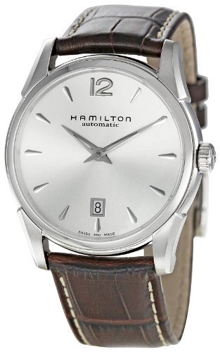 Hamilton Men's H38515555 Jazzmaster Silver Dial Watch