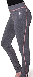 Emmalise Women's Athletic Compression Workout Exercise Pants