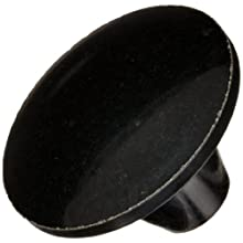 DimcoGray Black Phenolic Push-Pull Knob Female, Brass Insert: 3/8-16&#034; Thread x 1/2&#034; Depth, 1-13/16&#034; Diameter x 1-3/16&#034; Height x 5/8&#034; Hub Dia x 7/8 Hub Length (Pack of 10)