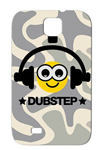 Anti-Drop Old School Culture Music Youth Smiley Headphones Miscellaneous Mixtape Deejay Graffiti Spray Can Dj Breakdance Music Dubstep Mc Dance Hip Hop Rap Party Electro Graffiti Urban Beat F3 For Sumsang Galaxy S4 Gold Tpu Protective Hard Case