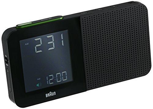 Braun BNC010BK-SRC AM/FM Quartz Alarm Clock (Braun Digital Alarm Clock Radio compare prices)