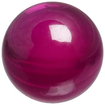 Synthetic Ruby Sphere, Grade 25
