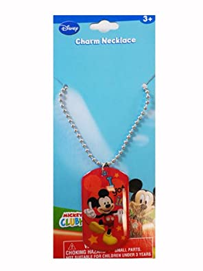 Character Charm Necklace Mickey Mouse Charm Necklace