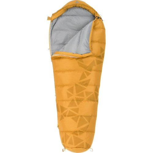 Kelty Cosmic Down 40-Degree Sleeping Bag, Yellow, 6-Feet