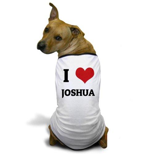 CafePress I Love Joshua Dog T-Shirt - 3XL White [Misc.]