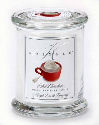 Kringle Candle Company Medium Classic Apothecary Jar - Hot Chocolate