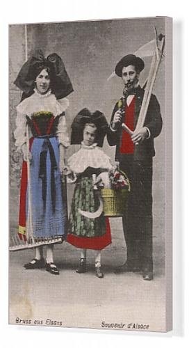 Canva (Traditional French Folk Costumes)