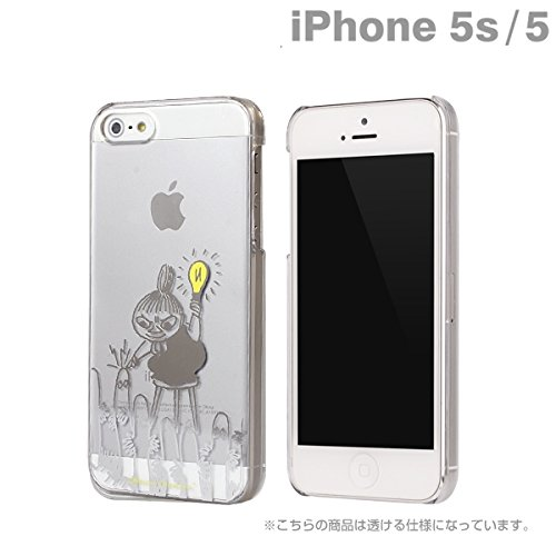 Moomin Character Clear iPhone 5 Case (Little My/ Light)