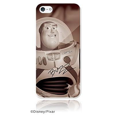 ディズニー iPhone5 ケース 「バズ・ライトイヤー」スター オブ トイ・ストーリー(ピュアホワイト)