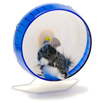 Super Pet Chinchilla 12-Inch Giant Silent Spinner Exercise Wheel, Colors Vary