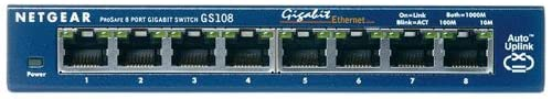 NETGEAR GS108v3 8ポート ギガビットスイッチングハブ (省電力製品) GS108-300JPS (本体ライフタイム保証)