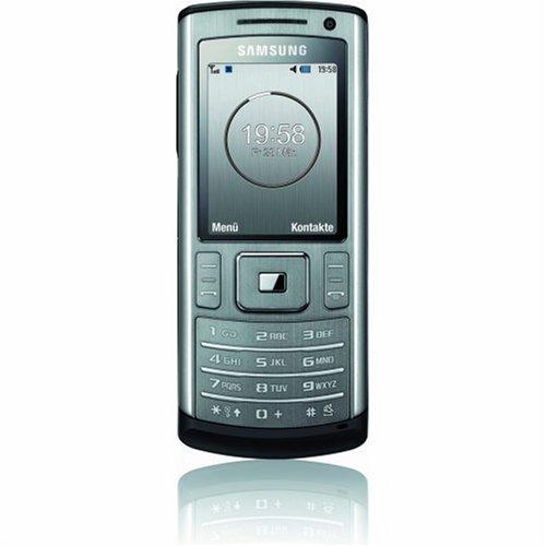 Samsung SGH-U800 Soul (3MP Kamera, Bluetooth, MP3-Player) soul-grey Handy ohne Vertrag, ohne Branding, kein Simlock