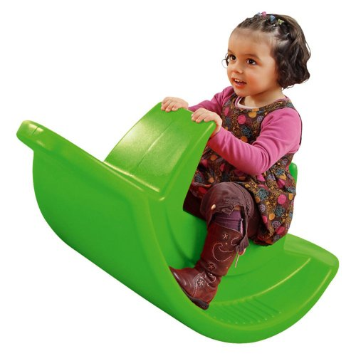 Wesco Wesco 3 Seater Child Seesaw, Green, Plastic front-987398