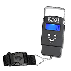 No More Excess, Advanced Digital Luggage Scale