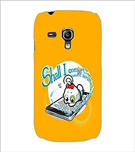 PrintDhaba Cartoon D-2345 Back Case Cover for SAMSUNG GALAXY S3 MINI (Multi-Coloured)