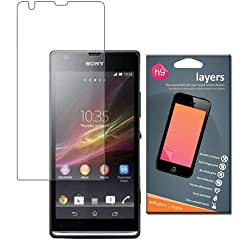 Sony Xperia SP matte screen guard with Anti-reflection by LAYERS