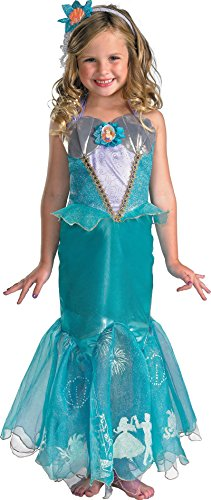 Little Mermaid - Ariel Prestige Child Costume Size 4-6 Small