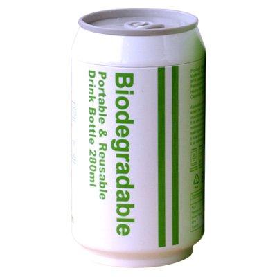 Biodegradable+バイオディグレーダブル+ポータブル+ドリンクボトル+[+ホワイト+]