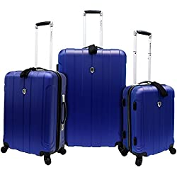 Traveler's Choice Cambridge 3-Piece Hardshell Spinner Luggage - Multiple Colors