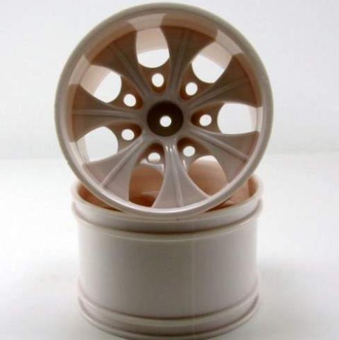 Redcat Racing 2.8 White 7 Spoke Wheels (2 Piece)