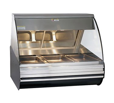 "Alto-Shaam Halo Heat 48"" Open Front Deli Display Case"
