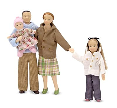 Melissa & Doug Victorian Dolls House Family Members