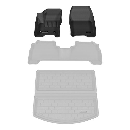Aries FR05611509 Black Front 3D Floor Liner - 2 Piece (2015 Ford Escape Floor Liner compare prices)