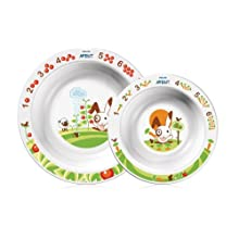 Philips Avent Toddler Mealtime Toddler 2 Bowl Set