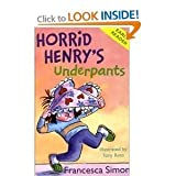 Horrid Henry: Early Reader 4 book collection pack: Horrid Henrys Holiday / Horrid Henrys Underpants / Don't Be Horrid Henry / Horrid Henrys Birthday Party rrp £19.96