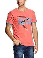 Spaio Camiseta Manga Corta (Coral)