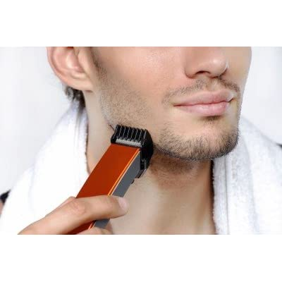 A star Pro Grooming SN556 Trimmer For Men(Orange)