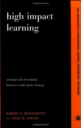 High Impact Learning: Strategies For Leveraging...