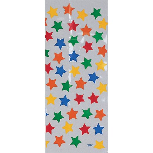 Creative Converting 236523 Primary Stars Cello Bags