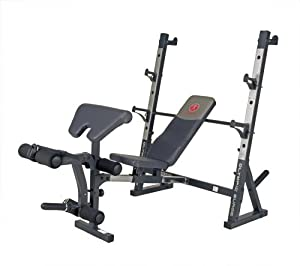 amazon com marcy diamond elite md 856 olympic bench