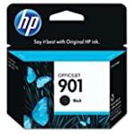HP 901 Ink Cartridge, 200 Page Yield,...
