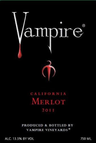 Vampire Vineyards 2011 Vampire Merlot 750 mL