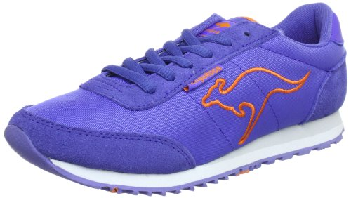 KangaROOS Bridget-Summer Trainers Women blue Blau (almostroyal/prawn 464) Size: 7 (41 EU)
