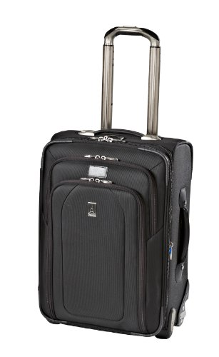 Travelpro Luggage Crew 9 20-Inch Expandable Bus Plus Rollaboard, Black, One Size best buy