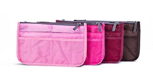 ecokaki tm women travel portable insert handbag pouch organiser purse large. Black Bedroom Furniture Sets. Home Design Ideas